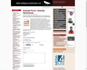 Zakelijk Pools Zakelijk Nederlands Wereldjournalisten