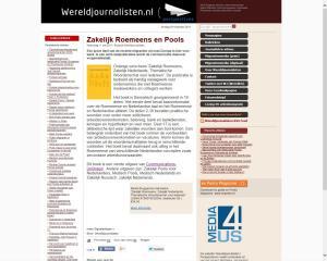 Zakelijk Roemeens Wereld Journalisten.png