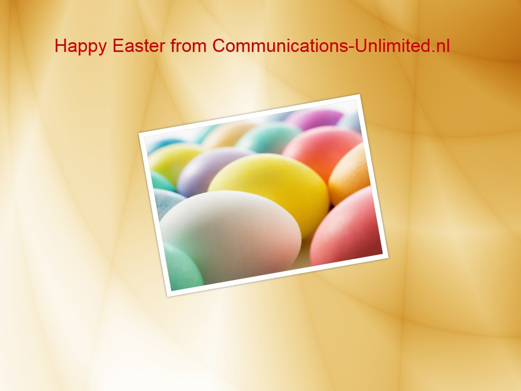 Happy Easter from Communications-Unlimited